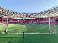 11th February 2020; Beira-Rio Stadium, Porto Alegre, Brazil; Libertadores Cup, Internacional versus Universidade de Chile; Inside view of the Beira-Rio Stadium
