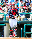 5 March 2010: Atlanta Braves' catcher Brian McCann in action during a Spring Training game against the Washington Nationals at Champion Stadium in the ESPN Wide World of Sports Complex in Orlando, Florida. The Braves defeated the Nationals 11-8 in Grapefruit League action. Mandatory Credit: Ed Wolfstein Photo