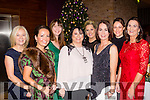 Santa's Girls<br /> ------------------<br /> Staff from Aspen Grove solutions, Tralee had a great night in Fels Point hotel, Tralee last Saturday for their Christmas party, L-R Corinna O'Halloran, Elain Duggan, Niamh Hennessy, Grace Egan, Charlene Doody, Ann Jenson, Helena McDonagh and Susan O'Mahony.
