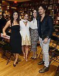CORAL GABLES, FL - NOVEMBER 05: Guest, Adamari Lopez,  Karla Monroig and Tommy Torres attend Adamari Lopez Book Signing 'Amando' at Books and Books on Thursday November 5, 2015 in Coral Gables, Florida. ( Photo by Johnny Louis / jlnphotography.com )