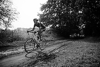 carefully racing over the slippery mud<br /> <br /> 90th Schaal Sels 2015