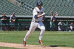 May 22, 2014; Stockton, CA, USA; Pepperdine Waves first baseman Brad Anderson during the WCC Baseball Championship at Banner Island Ballpark.