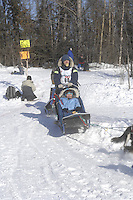 Richard Savoyski Anchorage Start Iditarod 2008.