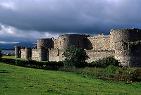 Großbritannien, Wales, Burg von Beaumaris, Unesco-Weltkulturerbe