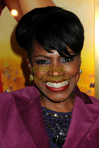 "SHERYL LEE RALPH.""The Color Purple"" Opening Night held at the Pantages Theatre, Hollywood, California, USA..February 11th, 2010.headshot portrait black purple smiling red lipstick .CAP/ADM/BP.©Byron Purvis/AdMedia/Capital Pictures."