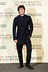 """Hotel Santo Mauro. Madrid. Spain. 30/04/2014. Presentation of the movie """" Los ojos amarillos de los cocodrilos"""".<br /> Quim Gutiérrez."""