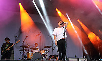 Nothing But Thieves perform at Truck Music Festival - Day One at Hall Farm, Steventon near Oxford, July 26th 2019<br />