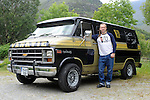 XXJOB: Me &amp; My Motor:  <br /> Peter Palusinski with his V8 Vanatic in Killarney.<br /> Picture by Don MacMonagle