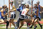 San Diego, CA 05/21/11 - Kathy Rudkin (Rancho Bernardo #16) and unidentified Rancho Bernardo player in action during the 2011 CIF San Diego Section Division 1 Championship game between Rancho Bernardo and Torrey Pines.