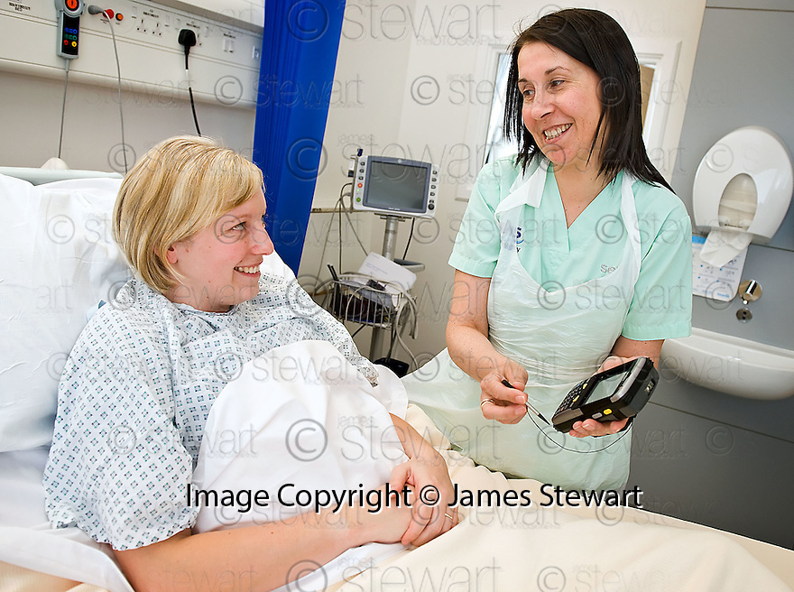 ::  SERCO :: FORTH VALLEY ROYAL HOSPITAL :: TAKING FOOD ORDER ON PDA ::