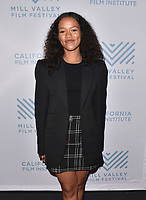 SAN RAFAEL, CA - OCTOBER 07: Taylor Russell arrives at the Centerpiece Film 'Waves' during the 42nd Mill Valley Film Festival at Christopher B. Smith Rafael Film Center on October 9, 2019 in San Rafael, California. Photo: imageSPACE for the Mill Valley Film Festival/MediaPunch