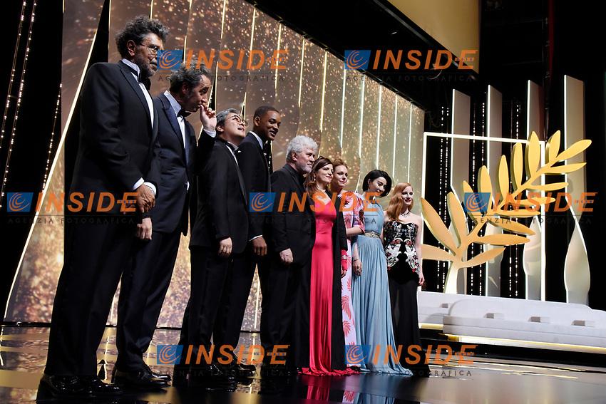 La giuria<br /> Cannes 17-05-2017 70&deg;Edizione Festival del Cinema di Cannes. Cerimonia d'apertura<br /> Foto Panoramic / Insidefoto