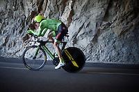 Pierre Rolland (FRA/Cannondale-Drapac)<br /> <br /> stage 13 (ITT): Bourg-Saint-Andeol - Le Caverne de Pont (37.5km)<br /> 103rd Tour de France 2016