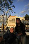 Israel, Herzliya's city center, Naomi Isachar and Mimia Gomez