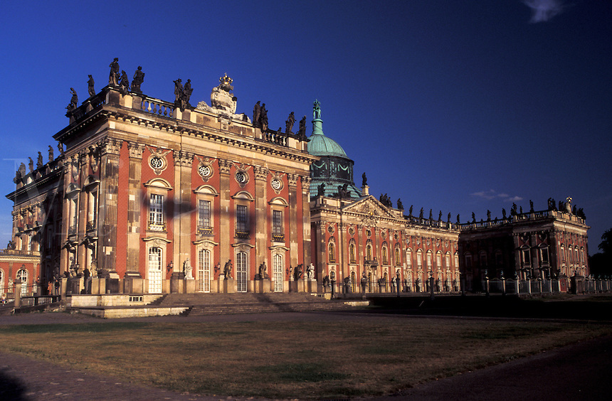 Potsdam, palace, Germany, Brandenburg, Europe, Neues Palais