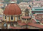 Medici Chapel Dome and Campanile Basilica di San Lorenzo Florence
