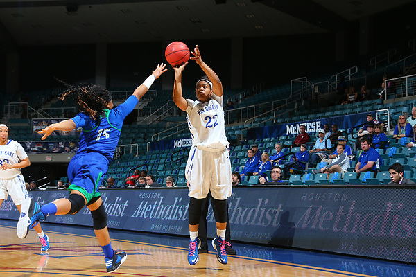 KATY, TX - MARCH 10: New Orleans v Texas A&M Corpus Christi during the Southland Woman's Conference basketball Tournament Game 4 at Merrell Center in Katy on March 10, 2017 in Katy, Texas. (Photo by Rick Yeatts) KATY, TX - MARCH 10: New Orleans v Texas A&M Corpus Christi during the Southland Woman's Conference basketball Tournament Game 3 at Merrell Center in Katy on March 10, 2017 in Katy, Texas. (Photo by Rick Yeatts)