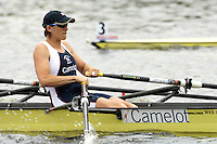 Poznan, POLAND.  2006, FISA, Rowing, World Cup, GBR W4X, Kathrine  GRAINGER, moves  away from  the  start, on the Malta  Lake. Regatta Course, Poznan, Thurs. 15.05.2006. [Mandatory Credit Peter Spurrier/ Intersport Images] Rowing Course:Malta Rowing Course, Poznan, POLAND