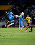 dManchester City midfielder Fernandinho Roza (l) in action during the 2016 International Champions Cup China match at the Shenzhen Stadium on 28 July 2016 in Shenzhen, China. Photo by Marcio Machado / Power Sport Images