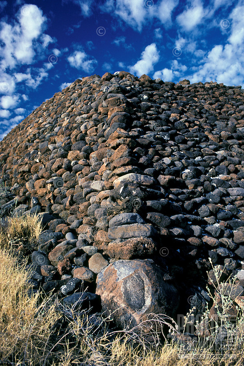 Puukohola Heiau, a national historic site, was constructed between 1790-91 by Kamehameha I, Kawaihae, South Kohala