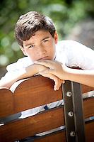 Teenage Boy At The Park