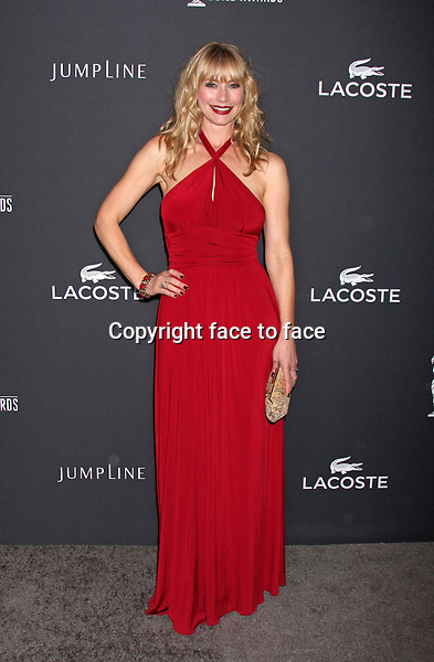 BEVERLY HILLS, CA - February 22: Meredith Monroe at the 16th Costume Designers Guild Awards, Beverly Hilton, Beverly Hills, February 22, 2014.<br />