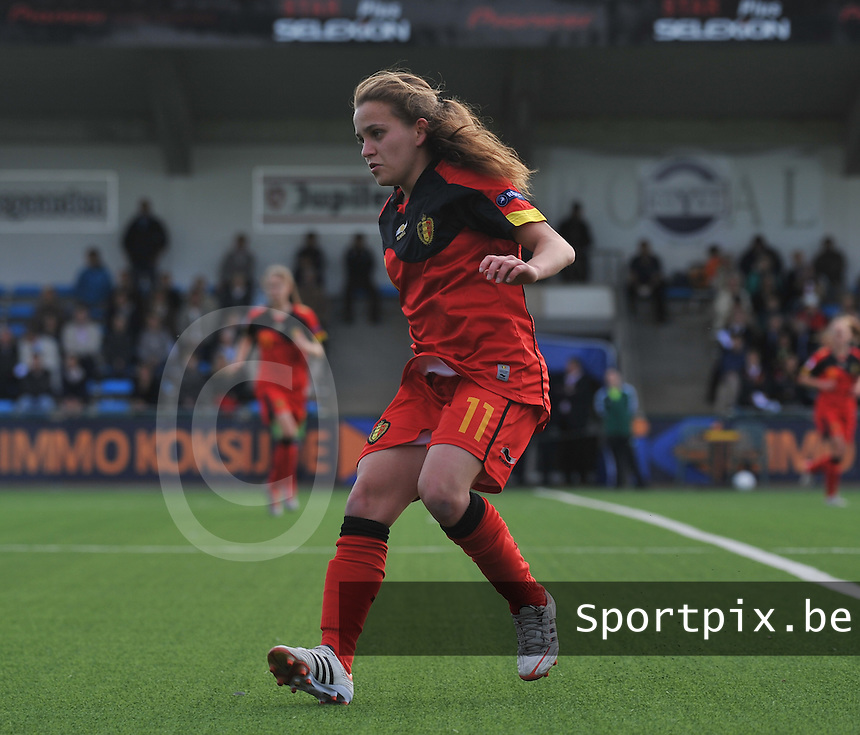 Belgium A - North Korea friendly game at Koksijde KVV Stadium - Belgie - Noord Korea : Davina Philtjens..foto David Catry / Joke Vuylsteke / Vrouwenteam.be