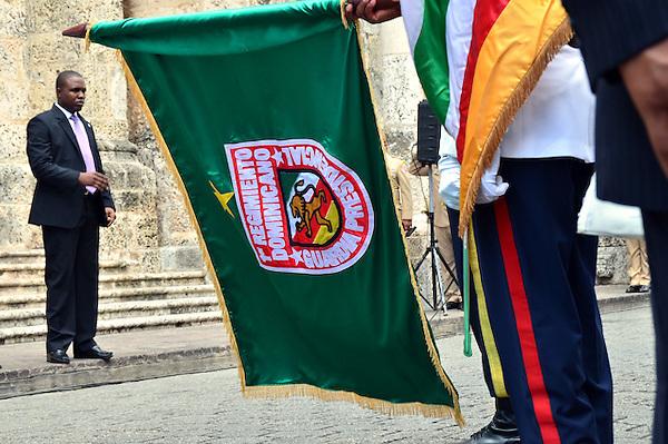 Presidente Danilo Medina inició la ceremonia de exaltación al Panteón Nacional al Coronel Francisco Alberto Caamaño, héroe de la Revolución de abril de 1965..Fotos: Carmen Suárez/acento.com.do.Fecha: 24/04/2013.