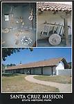 Santa Cruz Mission State Historic Park, 5x7 postcard