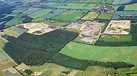 Buhck in Wiershop: EUROPA, DEUTSCHLAND, SCHLESWIG- HOLSTEIN,WIERSHOP (GERMANY), 05.06.2018: In Wiershop bei Geesthacht sind auf mehr als 70 Hektar eine Sortier- und Recyclinganlagen, Kiesgruben und Deponien der Firma Buhck.