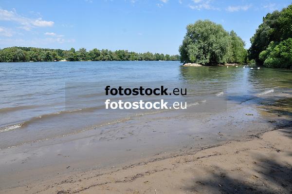 Rheinstrand bei Ingelheim