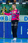 Andreas Palicka (Rhein Neckar Löwen Nr.12)  jubelt - beim Bundesliga-Spiel der Rhein Neckar Löwen gegen SC DHfK Leipzig am 03.03.2020 in der SAP Arena in Mannheim<br /> <br /> Foto © PIX-Sportfotos *** Foto ist honorarpflichtig! *** Auf Anfrage in hoeherer Qualitaet/Aufloesung. Belegexemplar erbeten. Veroeffentlichung ausschliesslich fuer journalistisch-publizistische Zwecke. For editorial use only.