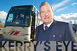 Killarney bus driver Jim Morris , who will retire from Bus E?ireann on Friday after 43 years service.