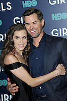 www.acepixs.com<br /> February 2, 2017  New York City<br /> <br /> Allison Williams and Andrew Rannells attending the New York premiere of the sixth &amp; final season of 'Girls' at Alice Tully Hall, Lincoln Center on February 2, 2017 in New York City.<br /> <br /> Credit: Kristin Callahan/ACE Pictures<br /> <br /> <br /> Tel: 646 769 0430<br /> Email: info@acepixs.com