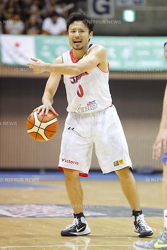 Yuta Tabuse (JPN), AUGUST 15, 2015 - Basketball : International friendly match between Japan 65-54 Czech Republic at 2nd Yoyogi Gymnasium in Tokyo, Japan. (Photo by Yusuke Nakanishi/AFLO SPORT)