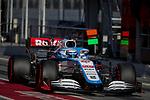 ROKiT Williams Racing, Nicholas Latifi, takes part in the tests for the new Formula One Grand Prix season at the Circuit de Catalunya in Montmelo, Barcelona. February 19, 2020 (ALTERPHOTOS/Javier Martínez de la Puente)