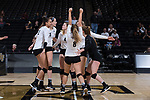 2017.11.03 - NCAA VB - Louisville vs Wake Forest
