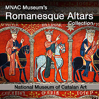Romanesque Catalan Altar Panel Paintings - National Museum of Catalan Art (MNAC) - Picture & Images