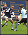 28/9/02       Copyright Pic : James Stewart                     .File Name : stewart-falkirk v st j'stone 13.LEE MILLER AND IAN MAXWELL CHALLENGE FOR THE BALL....James Stewart Photo Agency, 19 Carronlea Drive, Falkirk. FK2 8DN      Vat Reg No. 607 6932 25.Office : +44 (0)1324 570906     .Mobile : + 44 (0)7721 416997.Fax     :  +44 (0)1324 570906.E-mail : jim@jspa.co.uk.If you require further information then contact Jim Stewart on any of the numbers above.........