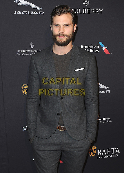 BEVERLY HILLS, CA - JANUARY 10:  Jamie Dornan at the BAFTA Los Angeles 2015 Awards Season Tea Party at The Four Seasons of Beverly Hills on January 10, 2015 in Beverly Hills, California. <br /> CAP/MPI/SKPG<br /> &copy;SKPG/MediaPunch/Capital Pictures