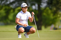 Nasa Hataoka (JPN) looks over her putt on 11 during the round 1 of the KPMG Women's PGA Championship, Hazeltine National, Chaska, Minnesota, USA. 6/20/2019.<br /> Picture: Golffile | Ken Murray<br /> <br /> <br /> All photo usage must carry mandatory copyright credit (© Golffile | Ken Murray)