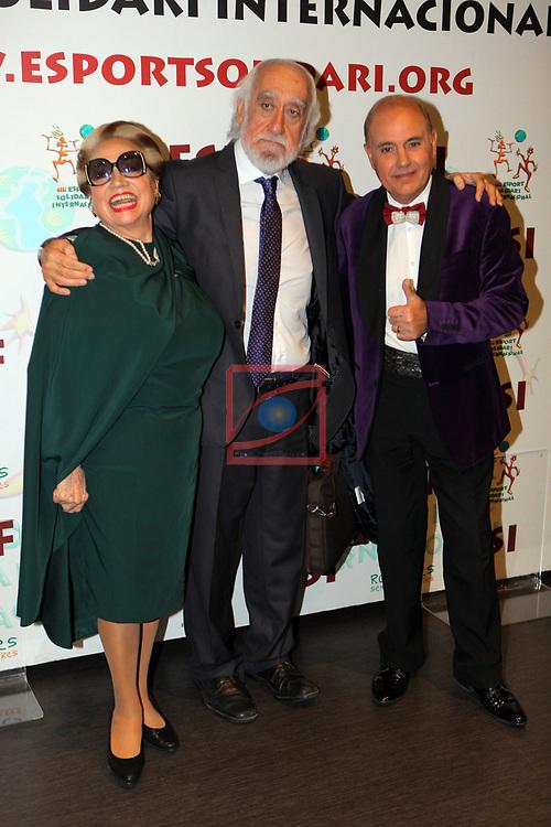 XIV Sopar Solidari de Nadal.<br /> Esport Solidari Internacional-ESI.<br /> Maruja Garrido, Josep Maldonado & Toni Rovira.