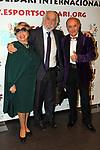 XIV Sopar Solidari de Nadal.<br /> Esport Solidari Internacional-ESI.<br /> Maruja Garrido, Josep Maldonado &amp; Toni Rovira.