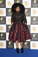 LONDON, UK. March 19, 2019: Gbemisola Ikumelo arriving for the Royal Television Society Awards 2019 at the Grosvenor House Hotel, London.<br /> Picture: Steve Vas/Featureflash