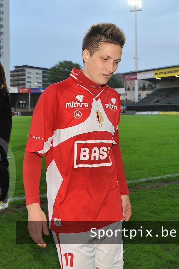 Bekerfinale 2012 : WD Lierse SK - Standard Femina :.Maud Coutereels.foto David Catry / Joke Vuylsteke / Vrouwenteam.be