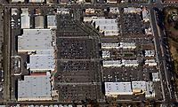 aerial photograph shopping center Santa Jose, San Clara county, California