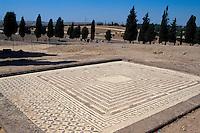 Spanien, Andalusien, Italica bei Sevilla, römische Mosaiken