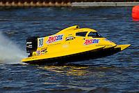 Terry Rinker's AeroSlot/Mercury, F1/Formula 1 class..Bay City River Roar, Bay City,Michigan USA.26-2821 June, 2009..©F. Peirce Williams 2009 USA.F.Peirce Williams.photography.ref: RAW (.NEF) File Available
