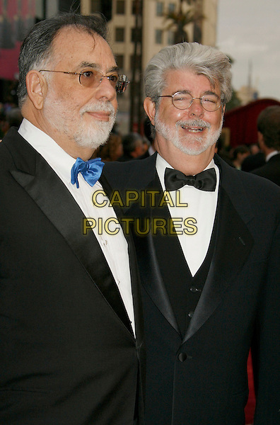 FRANCIS FORD COPPOLA & GEORGE LUCAS.The 79th Annual Academy Awards - Arrivals held at the Kodak Theatre. Hollywood, California, USA,.25 February 2007..oscars red carpet half length.CAP/ADM/RE.©Russ Elliot/AdMedia/Capital Pictures.