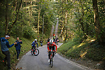 Austria Team training ride before the 2018 UCI Road World Championships, Innsbruck-Tirol, Austria 2018. 26th September 2018.<br /> Picture: Innsbruck-Tirol 2018/Sebastian Schels | Cyclefile<br /> <br /> <br /> All photos usage must carry mandatory copyright credit (&copy; Cyclefile | Innsbruck-Tirol 2018/Sebastian Schels)